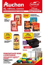 Auchan akciós újság 2021. 04.06-04.14