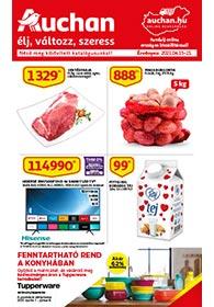 Auchan Szupermarket akciós újság 2021. 04.15-04.21