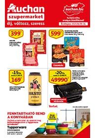 Auchan Szupermarket akciós újság 2021. 04.06-04.14