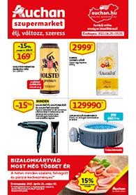Auchan Szupermarket akciós újság 2021. 04.29-05.05