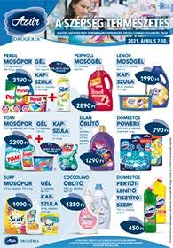 Azúr drogéria akciós újság 2021. 04.07-04.30
