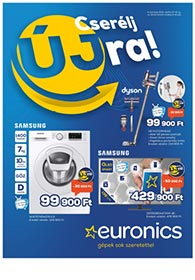 Euronics akciós újság 2021. 04.15-04.21