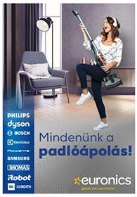 Euronics Porszívó katalógus 2021. 04.01-04.07