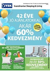 JYSK akciós újság 2021. 04.01-04.14