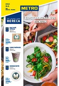 Metro HORECA egyszerhasználatos eszközök katalógus 2021. 04.21-05.18