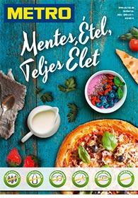 Metro Mentes Étel katalógus 2021. 04.07-05.04
