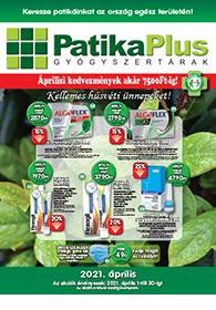 PatikaPlus akciós újság 2021. 04.01-04.30