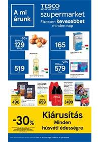 Tesco szupermarket akciós újság 2021. 04.06-04.14