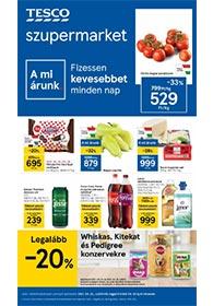 Tesco szupermarket akciós újság 2021. 04.22-04.28