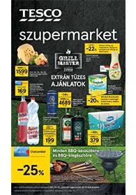 Tesco szupermarket akciós újság 2021. 04.29-05.05