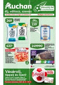 Auchan Foci EB katalógus 2021. 06.03-06.16