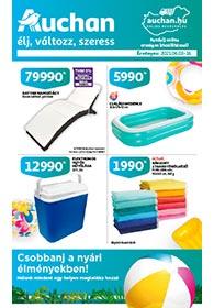Auchan Nyári katalógus 2021. 06.03-06.13