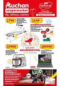Auchan Szupermarket akciós újság 2021. 05.13-05.19
