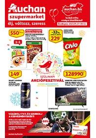 Auchan Szupermarket akciós újság 2021. 05.27-06.02