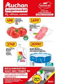 Auchan Szupermarket akciós újság 2021. 06.03-06.09