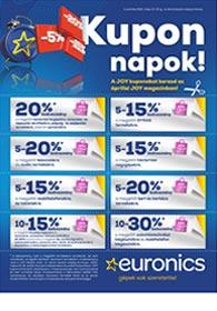 Euronics JOY-napok Kuponok 2021. 05.13-05.16