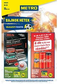 Metro Bajnokok hete katalógus 2021. 06.02-06.29