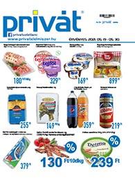 Privát Élelmiszer akciós újság 2021. 05.19-05.30