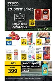 Tesco szupermarket akciós újság 2021. 05.13-05.19