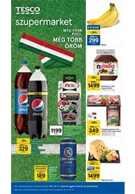 Tesco szupermarket akciós újság 2021. 05.27-06.02