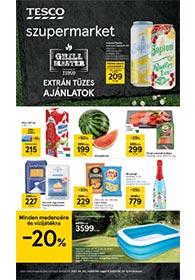Tesco szupermarket akciós újság 2021. 06.03-06.09