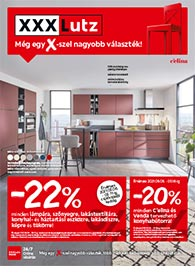 XXXLutz akciós újság 2021. 05.05-05.18