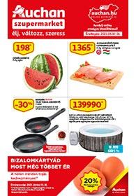 Auchan Szupermarket akciós újság 2021. 06.10-06.16