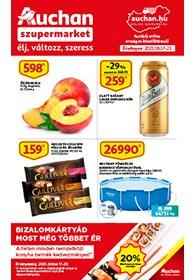 Auchan Szupermarket akciós újság 2021. 06.17-06.23