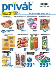Privát Élelmiszer akciós újság 2021. 06.02-06.13
