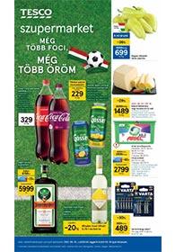 Tesco szupermarket akciós újság 2021. 06.10-06.16