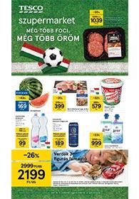 Tesco szupermarket akciós újság 2021. 06.17-06.23