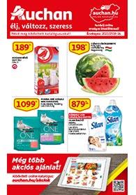 Auchan akciós újság 2021. 07.08-07.14