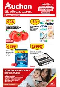 Auchan akciós újság 2021. 07.15-07.21