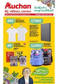 Auchan Iskolakezdés katalógus 2021. 07.29-08.11
