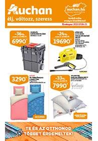 Auchan Barkács katalógus 2021. 07.08-07.21