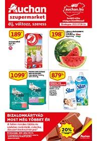 Auchan Szupermarket akciós újság 2021. 07.08-07.14