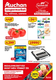 Auchan Szupermarket akciós újság 2021. 07.15-07.21