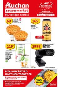 Auchan Szupermarket akciós újság 2021. 07.22-07.28