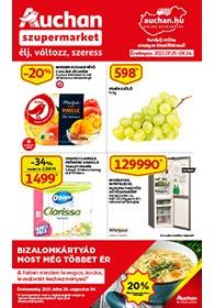 Auchan Szupermarket akciós újság 2021. 07.29-08.04