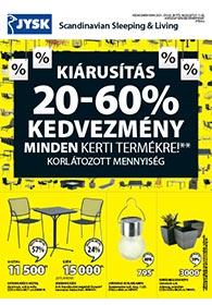 JYSK akciós újság 2021. 07.29-08.11