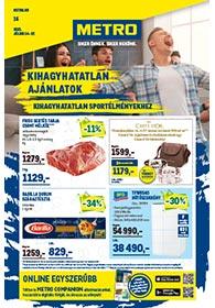 Metro Élelmiszer és Szezonális katalógus 2021. 07.14-07.27
