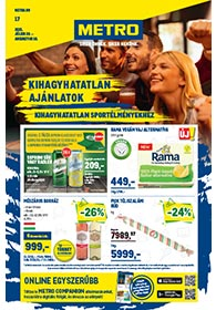 Metro Élelmiszer és Szezonális katalógus 2021. 07.28-08.10