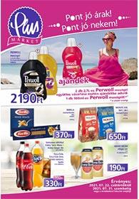 PlusMarket akciós újság 2021. 07.22-07.31