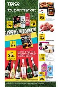 Tesco szupermarket akciós újság 2021. 07.08-07.14