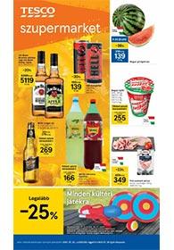 Tesco szupermarket akciós újság 2021. 07.22-07.28