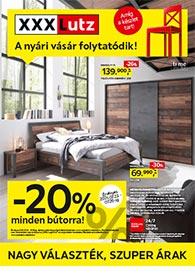 XXXLutz akciós újság 2021. 07.19-08.01
