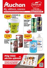 Auchan akciós újság 2021. 08.05-08.11