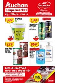 Auchan Szupermarket akciós újság 2021. 08.05-08.11