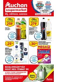 Auchan Szupermarket akciós újság 2021. 09.02-09.08