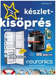 Euronics akciós újság 2021. 08.06-08.11